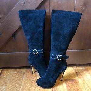 N.y.l.a Belize suede boots